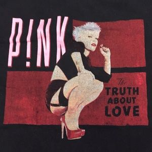 Other - PINK The Truth About Love 2013 Tour Tee